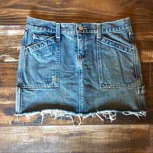 Lucky Brand denim mini skirt